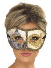 Venetian Columbina Venice Eye Mask